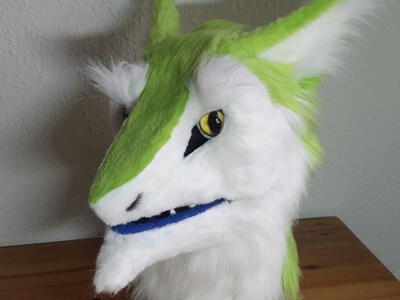Apple Sergal Head
